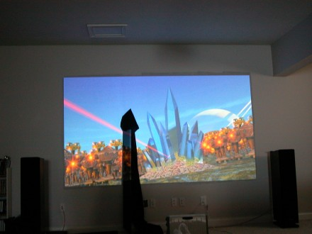 Carltonbale Com 187 A Home Theater Projector Screen For Any